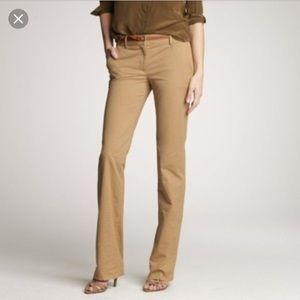 J.Crew Café Trousers 4Tall